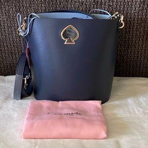 NWT Kate Spade Suzy Small Bucket Blazer Blue